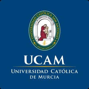 Escudo_UCAM_fondoazul_CMYK