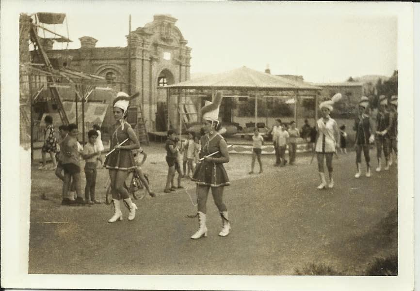 045. Majorettes, fiesta San Félix, año 1962 ó 1963